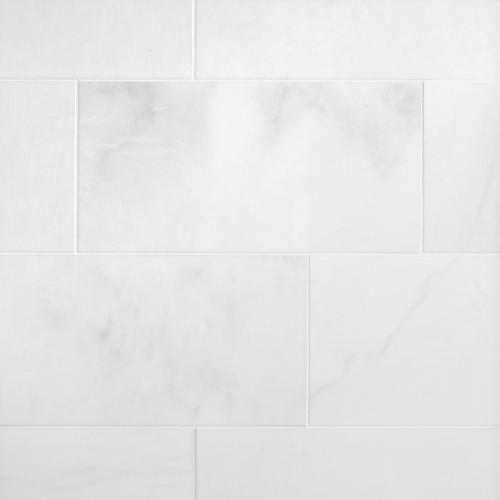 Thassos Standard Polished Marble Tile 12 X 24 100417336 Floor And Decor