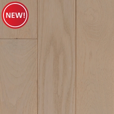 New! White Ivory Sawn Oak Wire Brushed Solid Hardwood