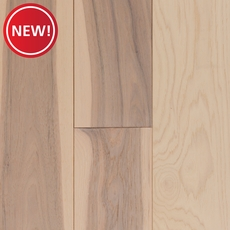 New! Salt Creek Hickory Wire Brushed Solid Hardwood