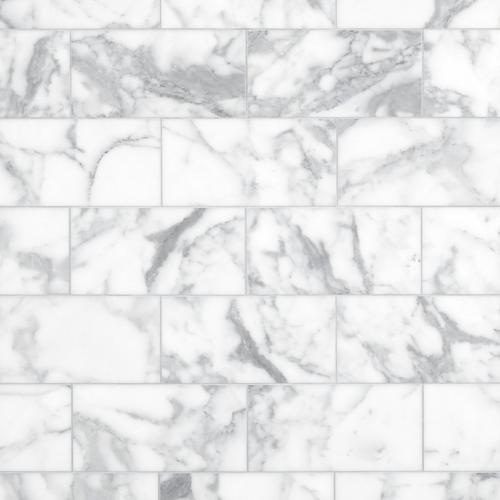 Statuario Honed Marble Tile 6 X 12 100421767 Floor And Decor