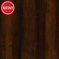 New! Eco Forest Rustic Brown Hand Scraped Locking Stranded Engineered Bamboo