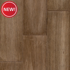 New! Eco Forest Bonsika Herringbone Distressed Solid Stranded Bamboo