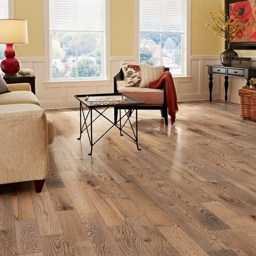 Natural Gray Oak Distressed Solid Hardwood 3 4in X 4in