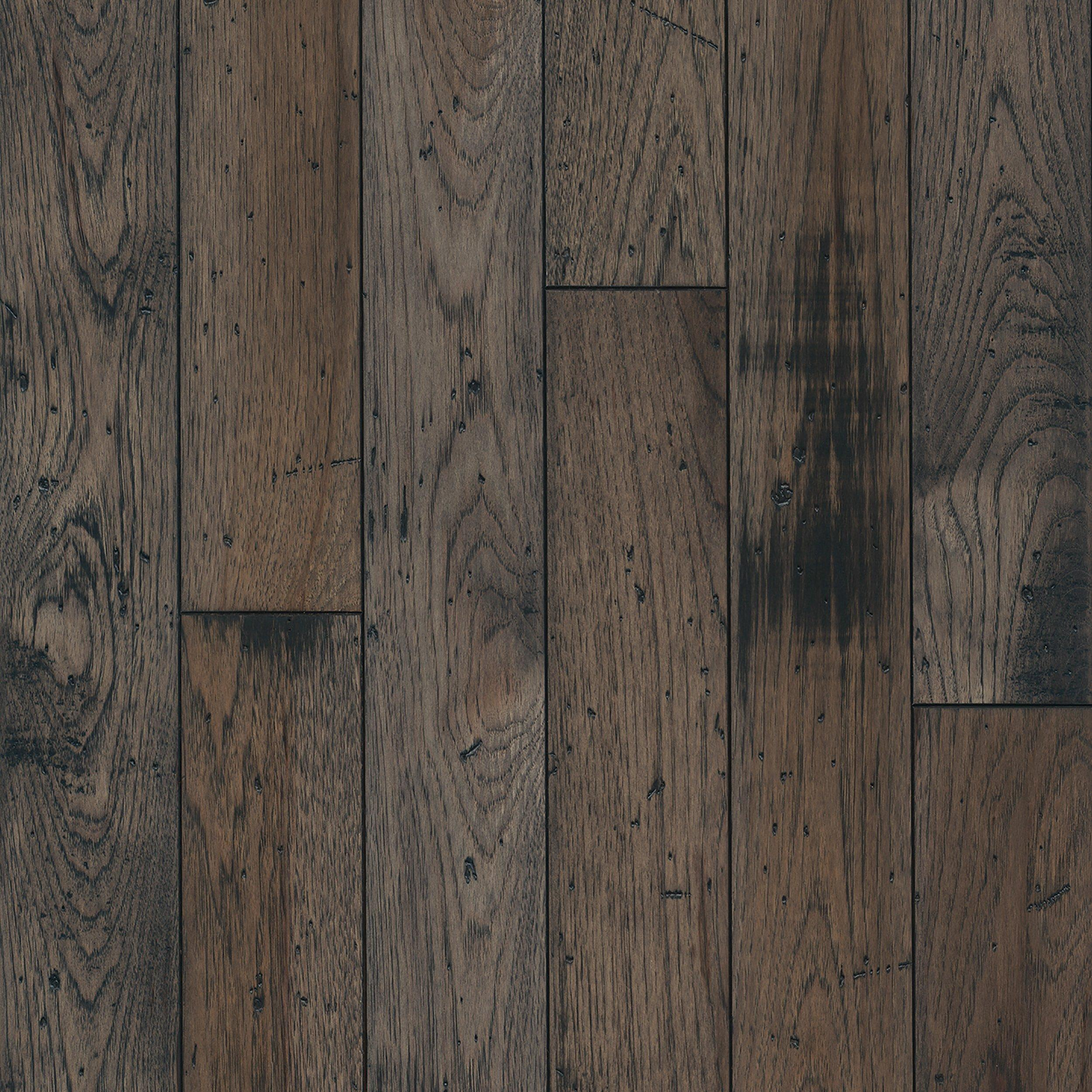 Greyhound Hickory Distressed Solid Hardwood 3 4in X 4in