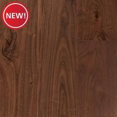 New! Natural Walnut Smooth Engineered Hardwood