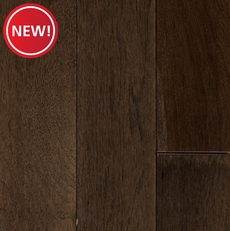 New! Graphite Hickory Wire Brushed Solid Hardwood