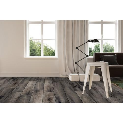 Laguna Anthracite Wood Plank Porcelain Tile 8 X 48 100434646