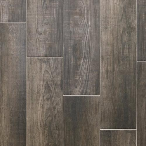 Laguna Anthracite Wood Plank Porcelain Tile - 8 x 48 - 100434646 ...