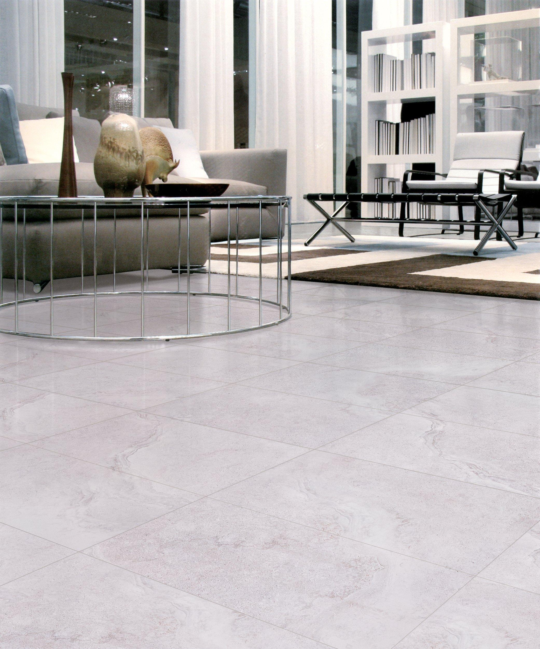 ... Kodiak White Polished Porcelain Tile. Click To Zoom