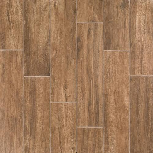 Burton Oak Wood Plank Porcelain Tile 6 X 24 100436070 Floor