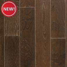 New! Bungalow Coffee Oak Wire Brushed Engineered Hardwood