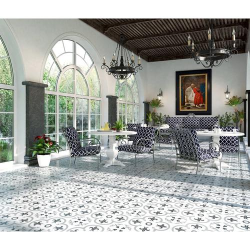 Florentina Gray Ceramic Tile 16 X 16 100439199 Floor And Decor