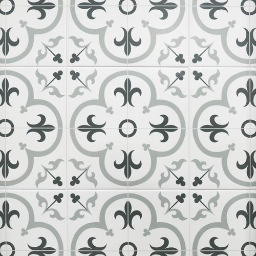 Florentina Gray Ceramic Tile 16 X 16 100439199 Floor And Decor