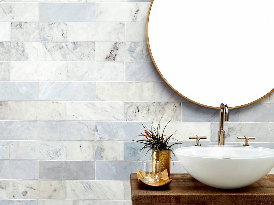 Maravilla Blue Forest Marble Tile