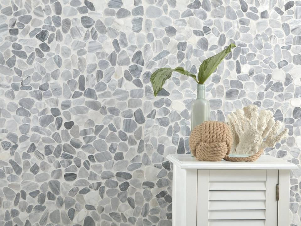 Pebblino Mosaici Ice Blue Pebblestone Mosaic