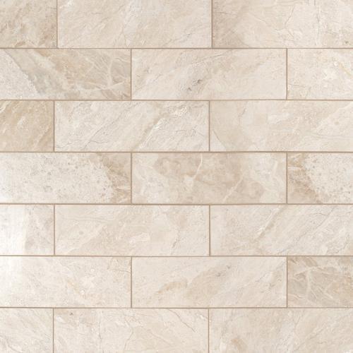 Crema Royal Polished Marble Tile 4 X 12 100467257 Floor And Decor