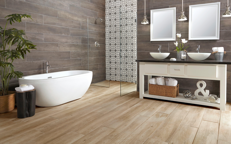 Laminate bathroom floor room · rooms bathroom 15 truewood cream wood plank porcelain tile laguna anthracite wood plank