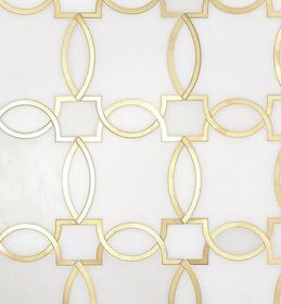 Elegant Tile Made With Waterjet