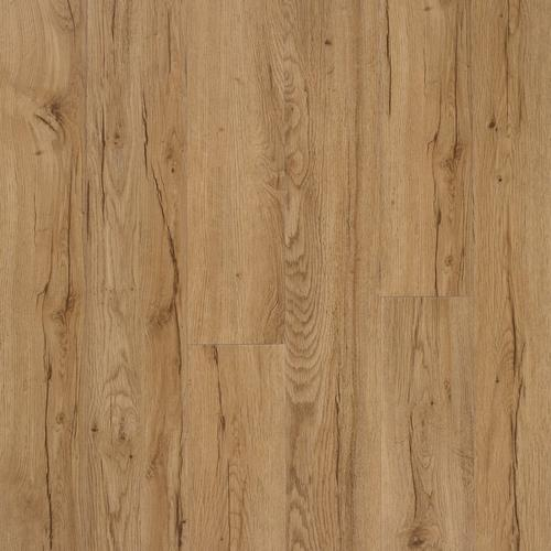 Signature Hickory Matte Luxury Vinyl Plank With Foam Back 6in X