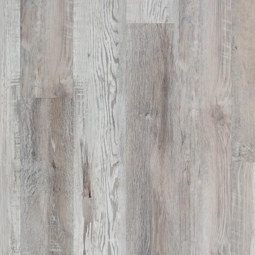 Highland Gray Salvage Luxury Vinyl Plank With Foam Back 6in X
