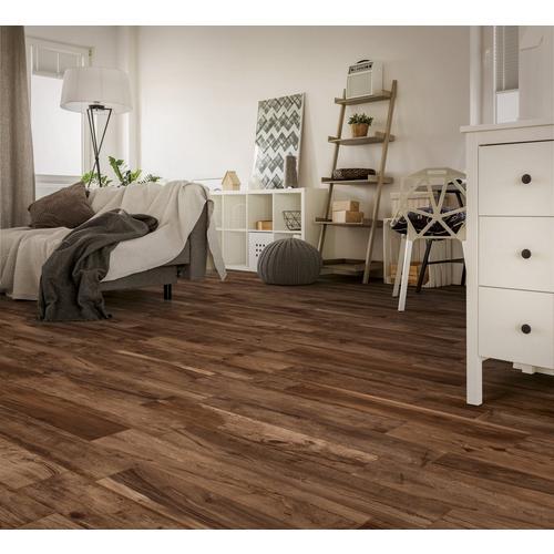 Soft Chestnut Wood Plank Porcelain Tile 6 X 40 100490192
