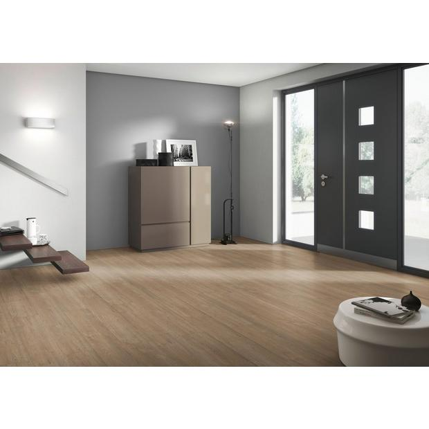 $2.49 per square foot - French Oak Gray Water-Resistant Laminate Plank Flooring at Floor and Decor