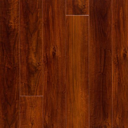 Red Mahogany High Gloss Plank With Cork Back 6in X 48in