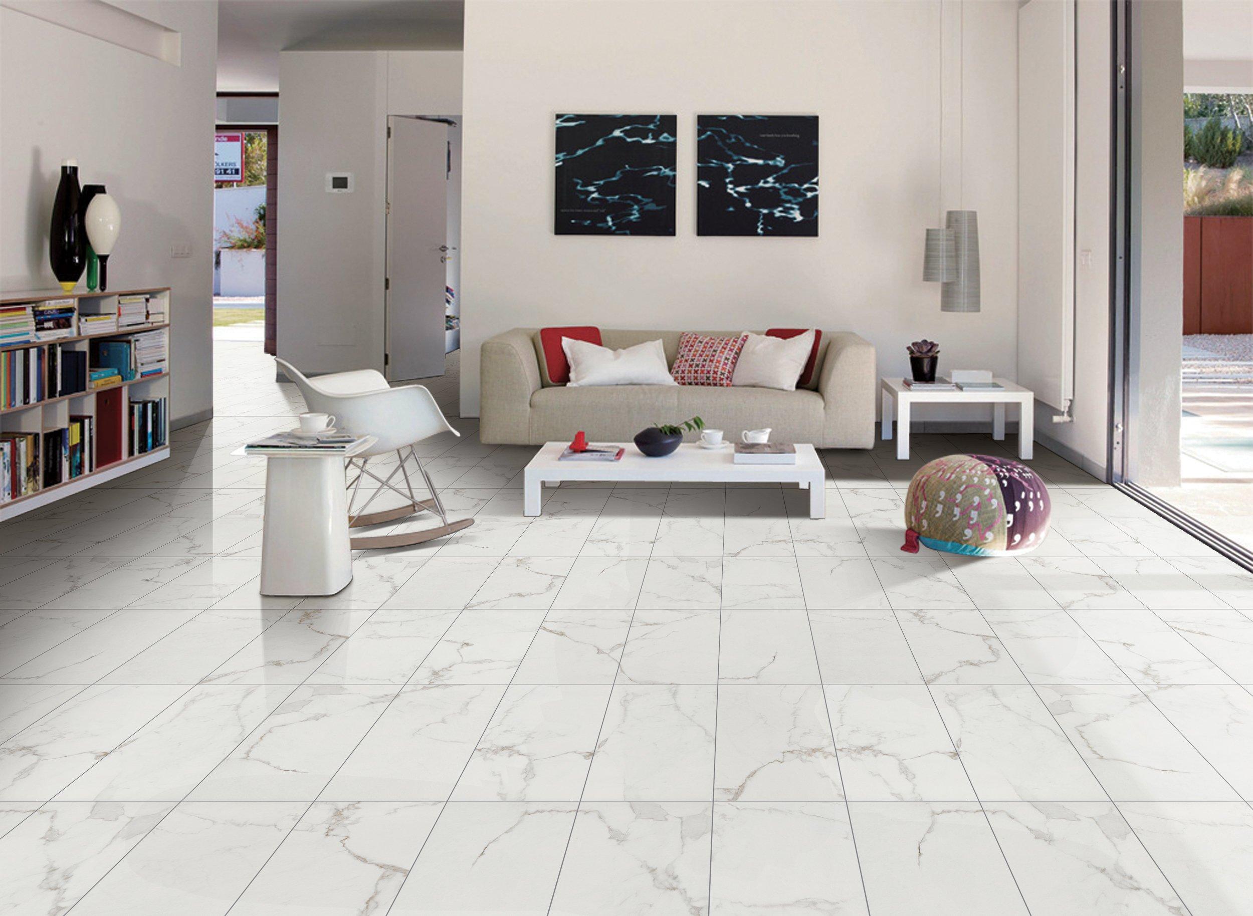 Perfect Ceramic Tile Living Room Vignette - Living Room Design Ideas ...