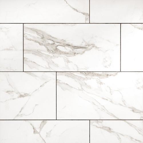 Levante White Ceramic Tile 12 X 24 100494681 Floor And Decor
