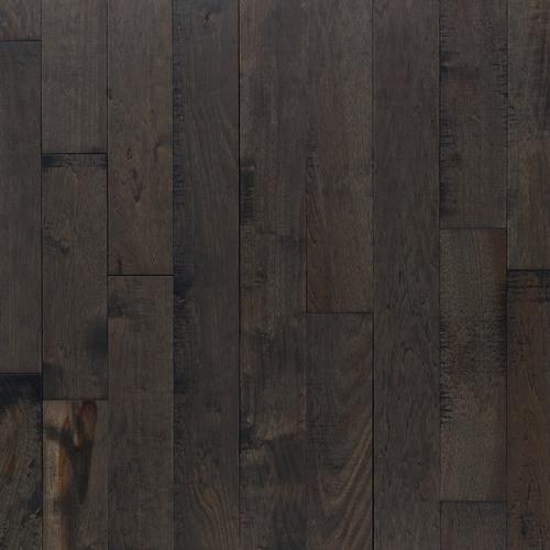 Patina Slate Hickory Distressed Solid Hardwood 34in X 4in