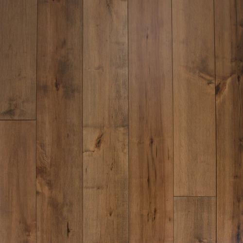Natural Maple Techtanium Wire Brushed Engineered Hardwood 12in X