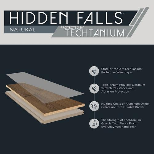 Tobacco Ridge Acacia Techtanium Hand Scraped Engineered Hardwood 3 8in X 4 3 4in 100502467 Floor And Decor