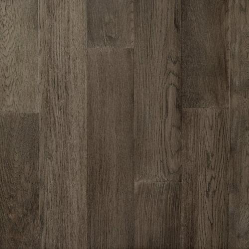 Medium Gray Oak Wire Brushed Water Resistant Engineered Hardwood