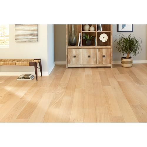 Ceruse Blonde Oak Wire Brushed Water Resistant Engineered Hardwood 6mm X 6 1 2in 100503218 Floor And Decor