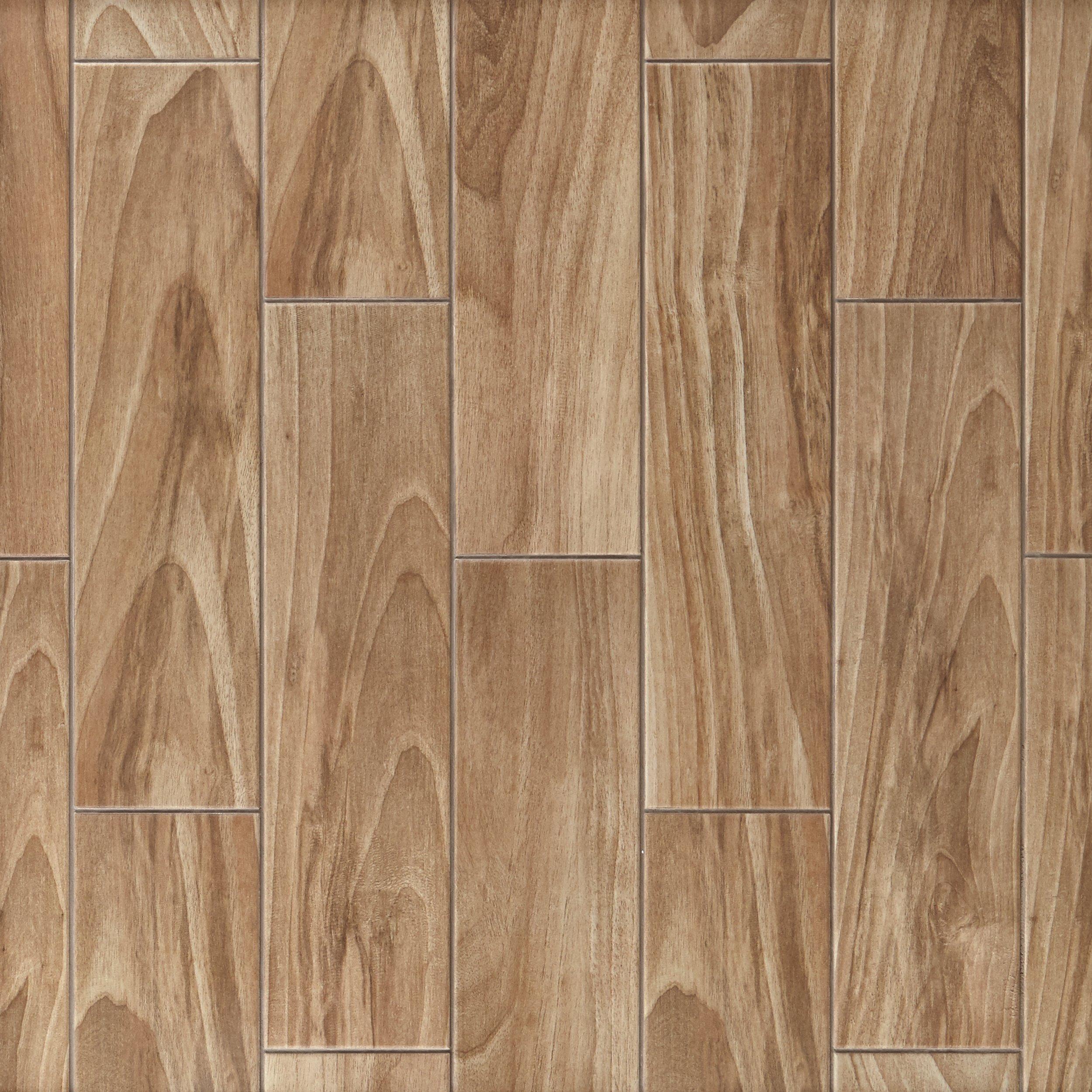 Dayton Oak Wood Plank Ceramic Tile 6 X 24 100512243 Floor