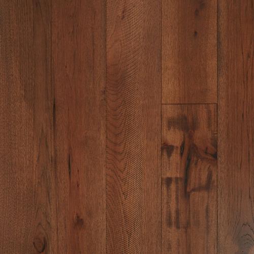 Hickory Dark Distressed Engineered Hardwood 12in X 7 12in