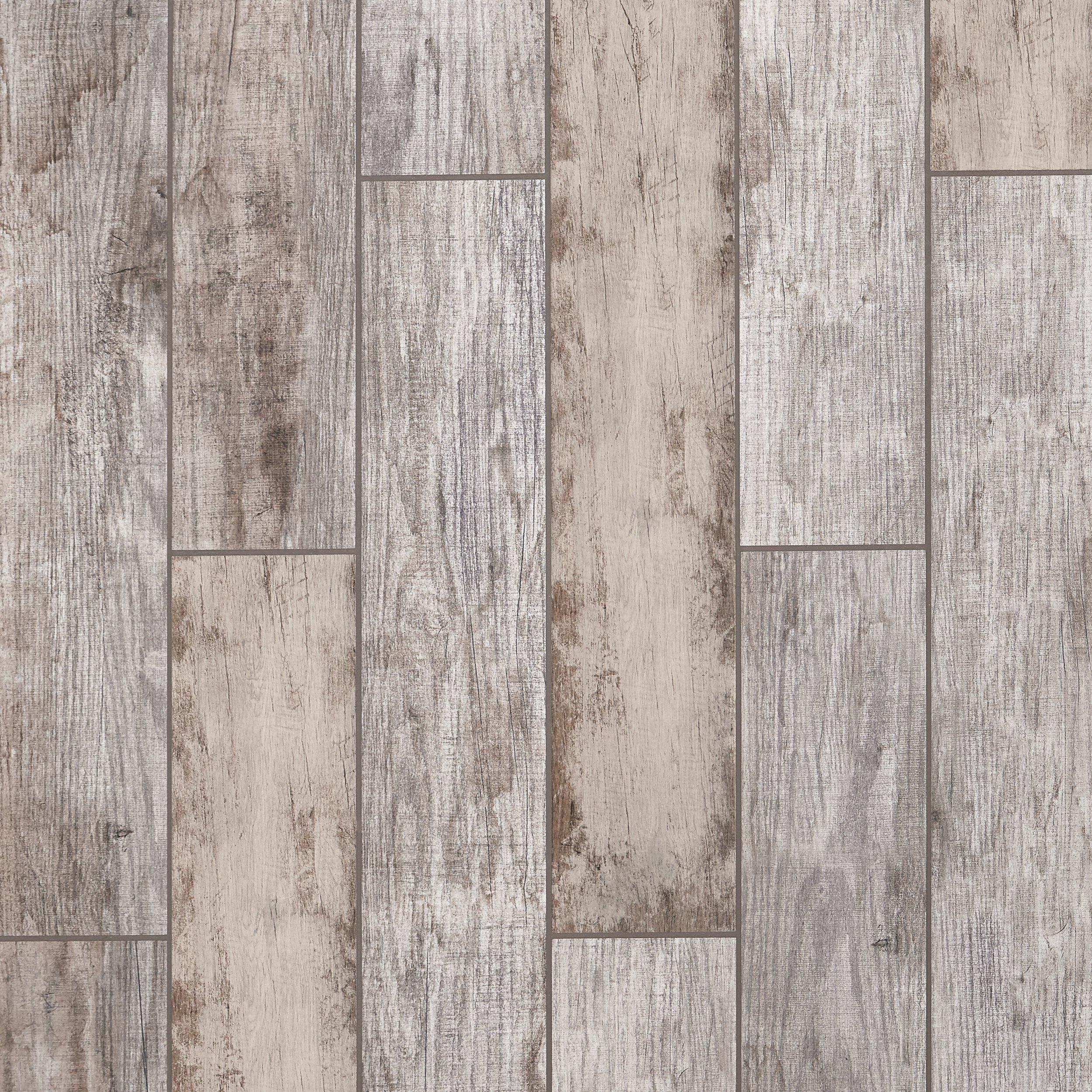 Arden Manor White Wood Plank Porcelain Tile   6 X 36   100559053 | Floor  And Decor