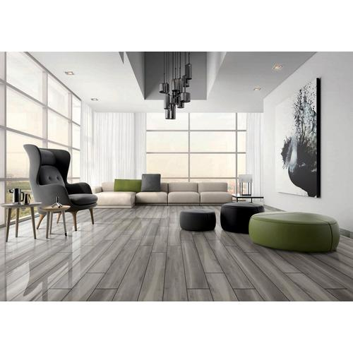 Highgate Dark Wood Plank Porcelain Tile 8 X 48 100559087