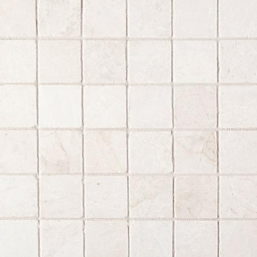 Botticino 2 In Square Marble Mosaic 12 X 12 100566249 Floor And Decor