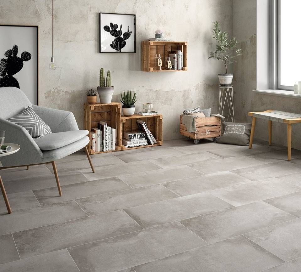 Cement Look Tile For Different Styles Floor Decor