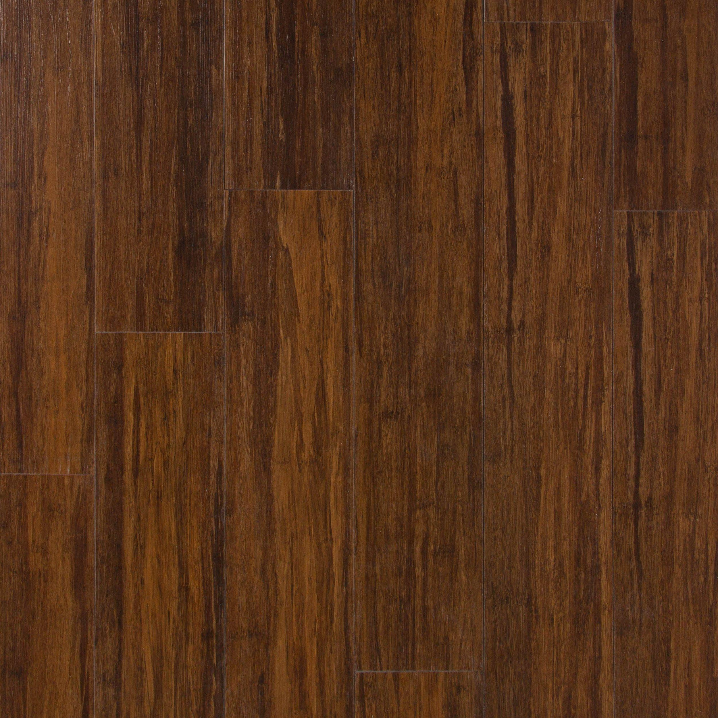 Heritage Bamboo Rigid Core Luxury Vinyl Plank Foam Back 5mm