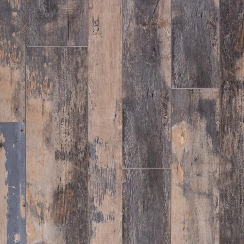 Rustic Blue Haze Rigid Core Luxury Vinyl Plank Cork Back