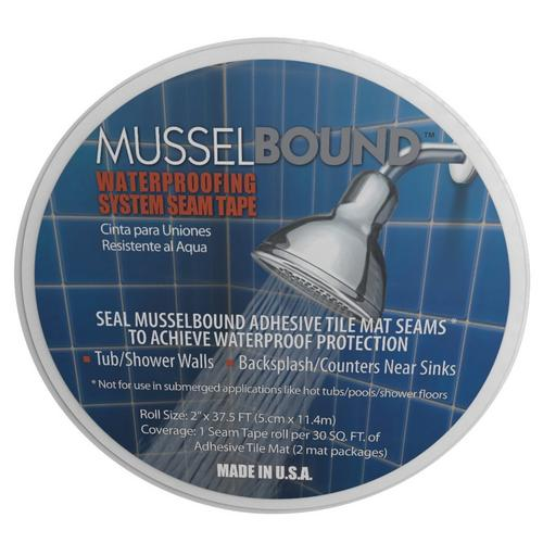MusselBound Waterproofing System Seam Tape - 2in  X 37 5ft