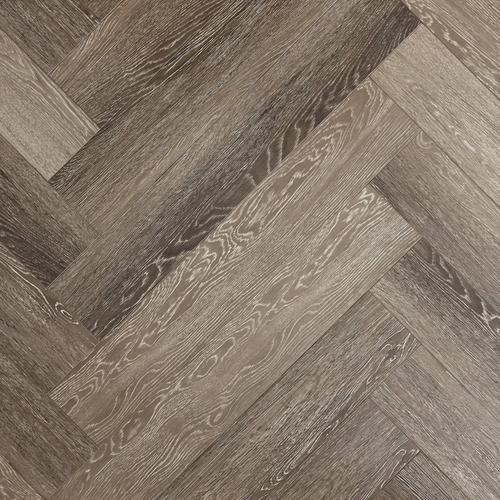 Stark Greige Herringbone Water Resistant Laminate 12mm 100584481 Floor And Decor