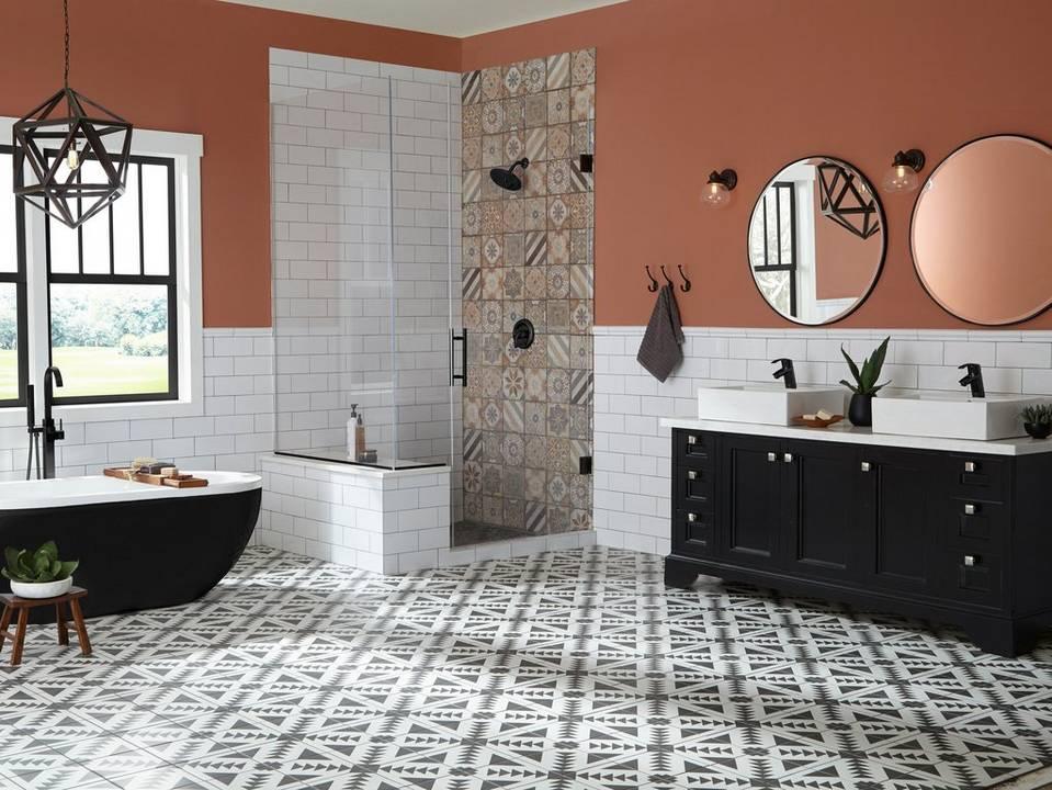 One Bath Three Looks By Floor Amp Decor Designers Floor