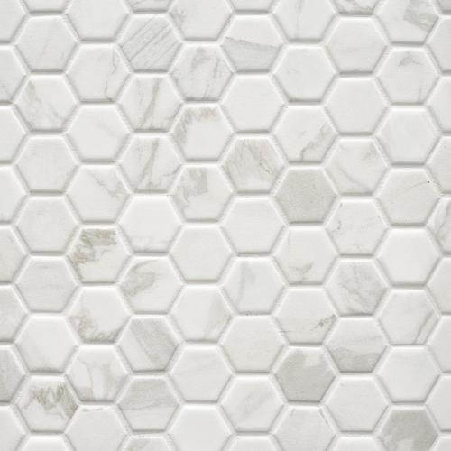 floor and decor grout.htm marble art 1 5 in hexagon ceramic mosaic 12 x 12 100609205  marble art 1 5 in hexagon ceramic