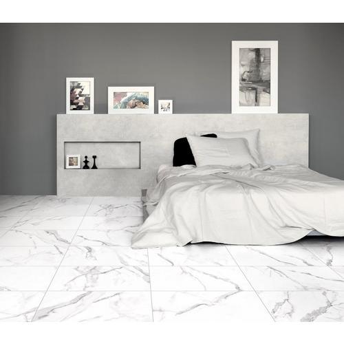 Levante White Ii Matte Ceramic Tile 12 X 24 100651041 Floor And Decor