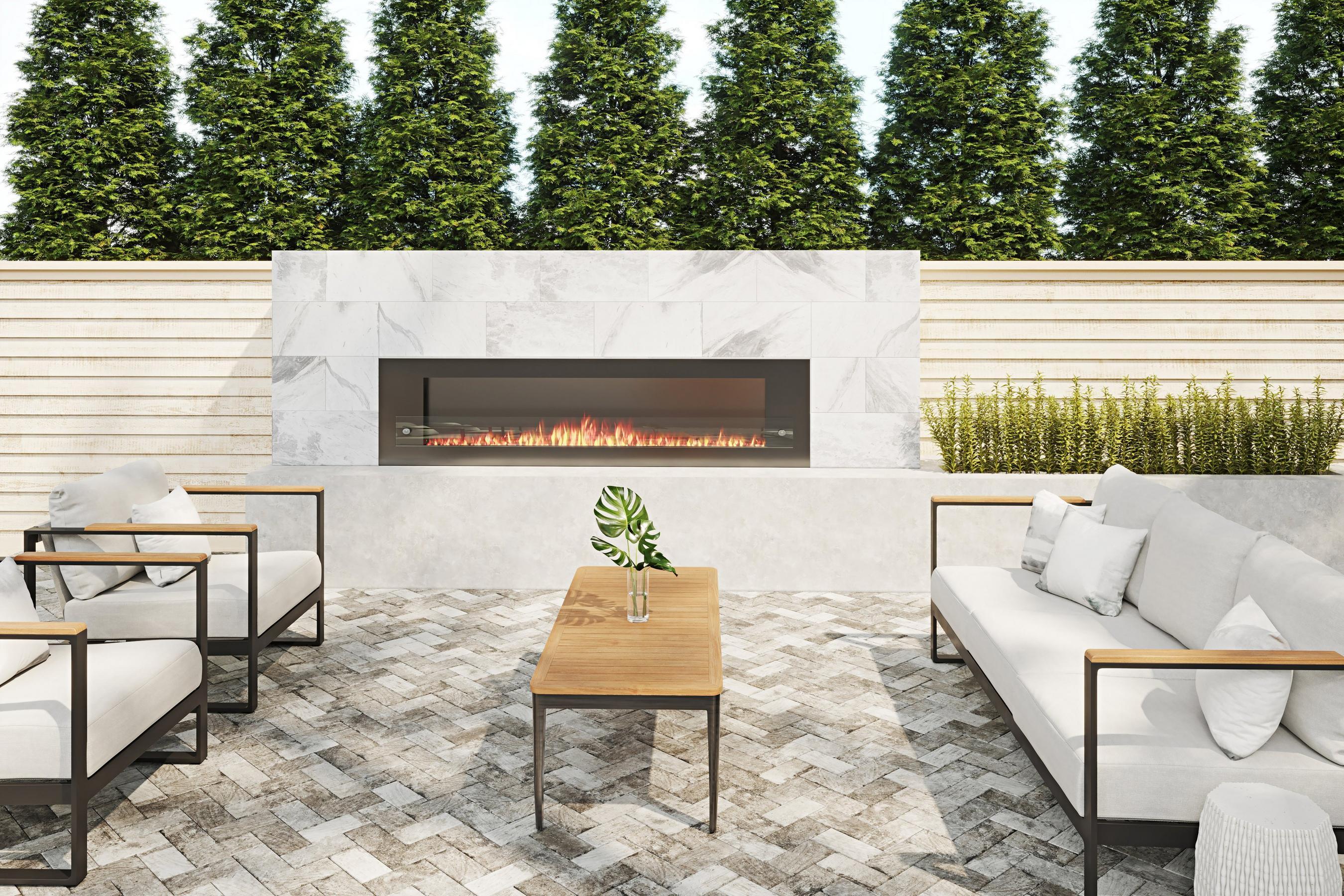 outdoor gallery floor decor