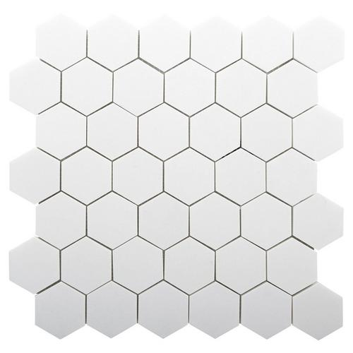Thassos 2 In Polished Marble Hexagon Tile 12 X 12 100833383 Floor And Decor