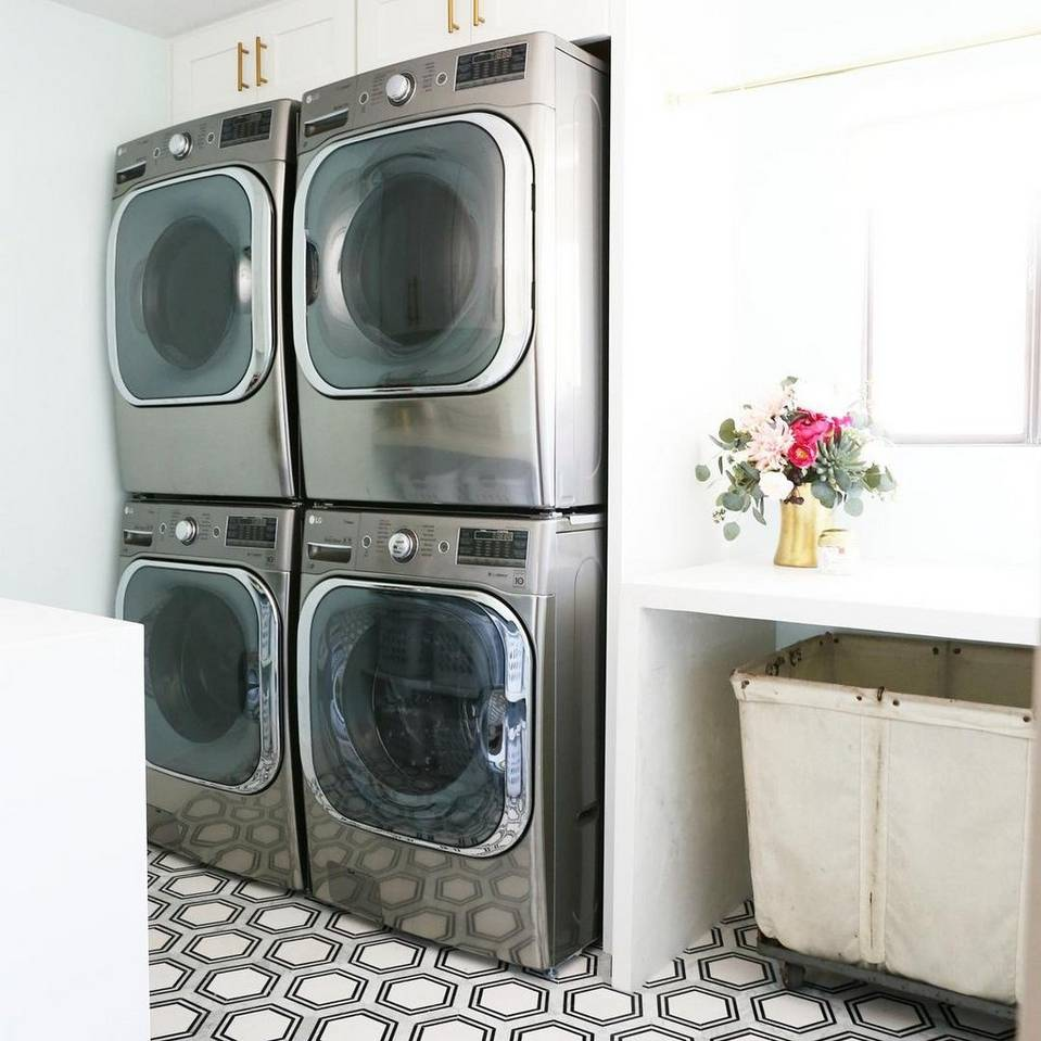 New Now Lively Laundry Rooms